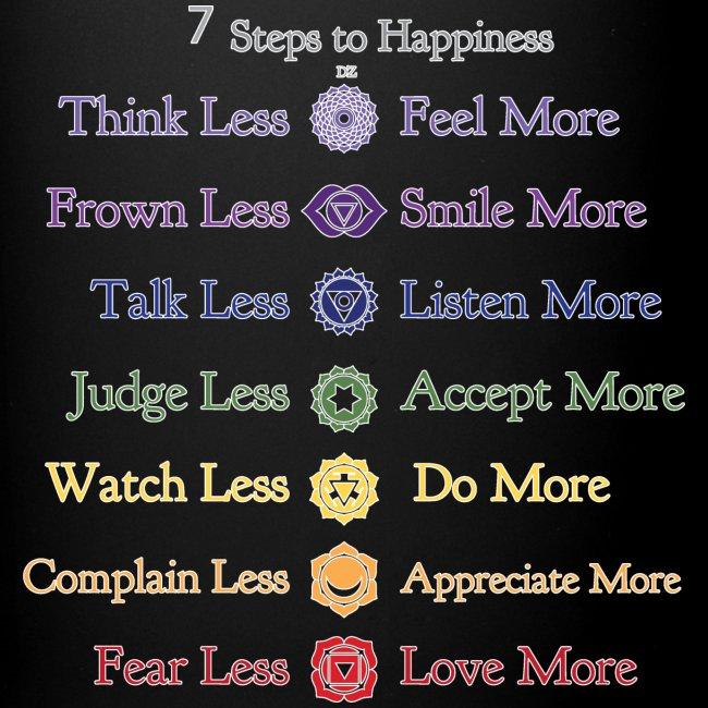 7 Steps to Happiness - Mug