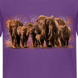 elephants Baby & Toddler Shirts - Toddler Premium T-Shirt