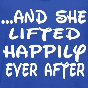 She lifted happily ever after Tanks - Women's Flowy Tank Top by Bella