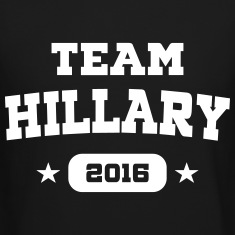 Team Hillary Long Sleeve Shirts