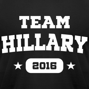 Team Hillary T-Shirts - Men's T-Shirt by American Apparel