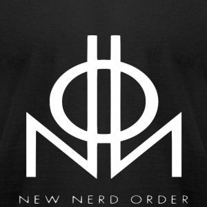 New Nerd Order - Men's T-Shirt by American Apparel