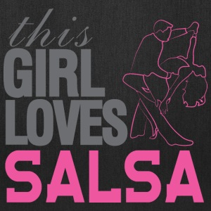 This Girl Loves Salsa - Tote Bag