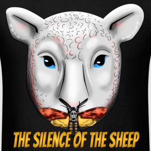 The Silence of the Sheep T-Shirts - Men's T-Shirt