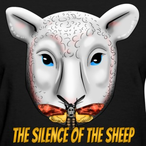 The Silence of the Sheep Women's T-Shirts - Women's T-Shirt