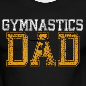 Gymnastics Dad - Men's Ringer T-Shirt