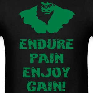 Pain Gym Sports Quotes - Men's T-Shirt