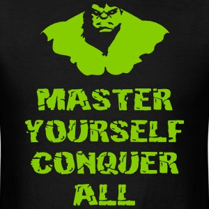Master Gym Sports Quotes - Men's T-Shirt