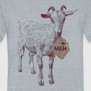 he-goat T-Shirts - Unisex Tri-Blend T-Shirt by American Apparel