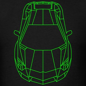 Tron Lamborghini outline T-Shirts - Men's T-Shirt