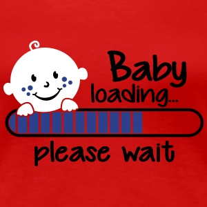 Baby Loading please wait Women's T-Shirts - Women's Premium T-Shirt