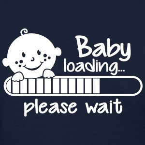 Baby Loading please wait Women's T-Shirts - Women's T-Shirt