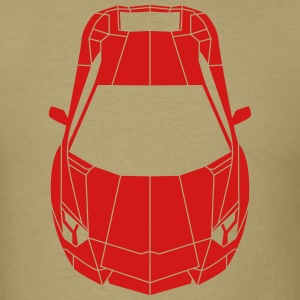 Tron Lamborghini shapes T-Shirts - Men's T-Shirt