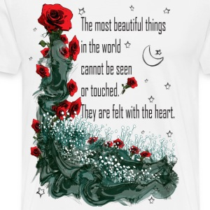 Felt with the heart T-Shirts - Men's Premium T-Shirt