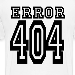 // error - Men's Premium T-Shirt