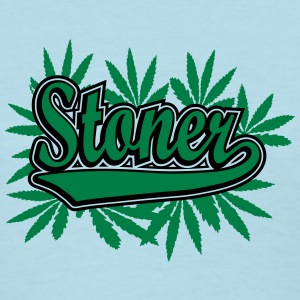 Stoner with cannabis leaves Women's T-Shirts - Women's T-Shirt