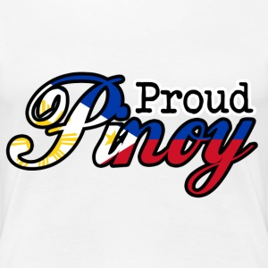Proud Pinoy - Women's Premium T-Shirt
