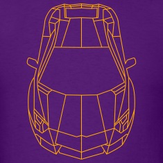 Tron Lamborghini outline T-Shirts