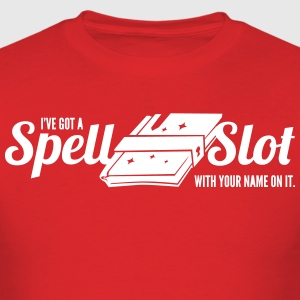 Spell Caster Shirt - Spell Slot - Men's T-Shirt