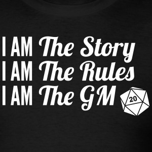 I am the Game Master Shirt - Men's T-Shirt