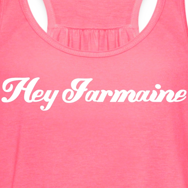 Flowy Tank - White - Hey Jarmaine