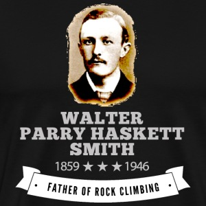 Father Rock Climbing Walter Smith - Men's Premium T-Shirt