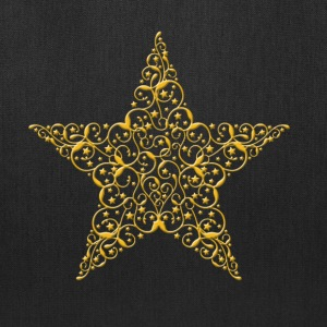 Gold Star Tote Bag - Tote Bag