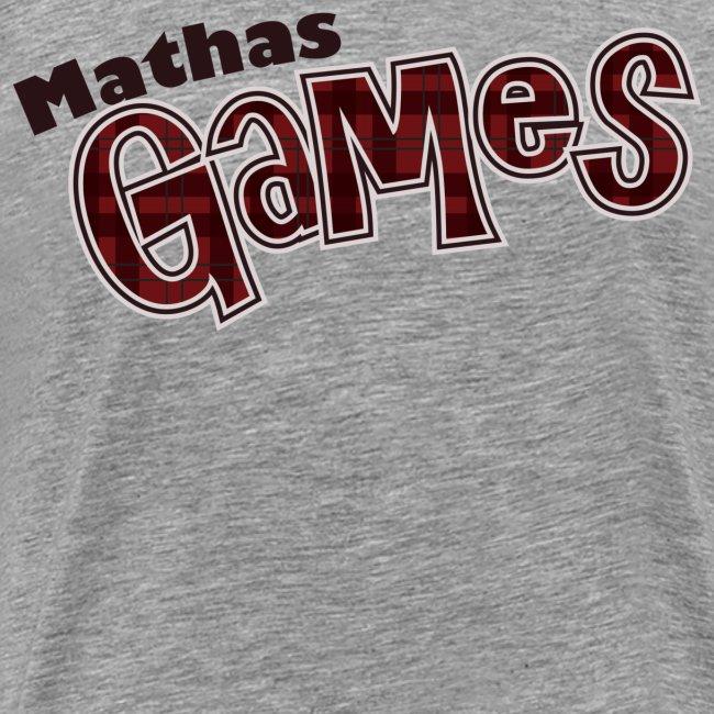 MathasGames Worded Logo Mens