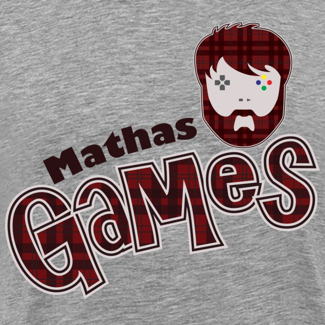 MathasGames Head Logo Variant Mens
