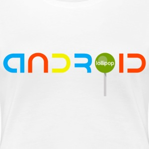 Android Lollipop - Women's Premium T-Shirt