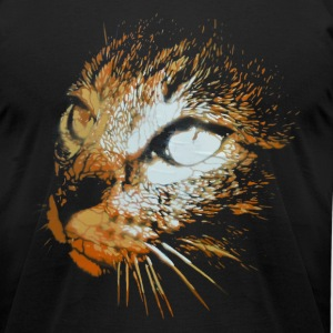 gato T-Shirts - Men's T-Shirt by American Apparel