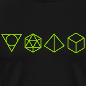 geometric mathematic T-Shirts - Men's Premium T-Shirt