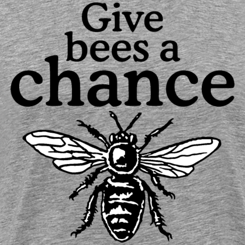 Give Bees A Chance Beekeeper Quote Design