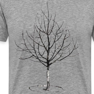 Apple Tree Garden Design T-Shirts - Men's Premium T-Shirt