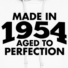Made in 1954 Teesome Hoodies