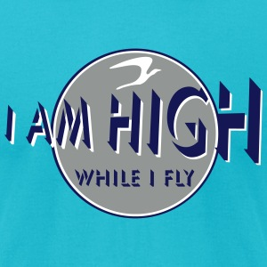 i am high x_vec_3 us T-Shirts - Men's T-Shirt by American Apparel