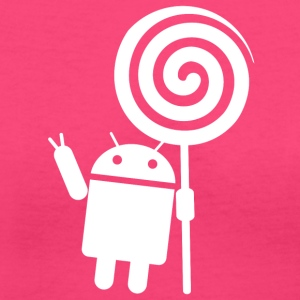 Android Lollipop - Women's V-Neck T-Shirt