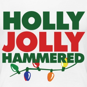 Holly Jolly Hammered - Women's Premium T-Shirt