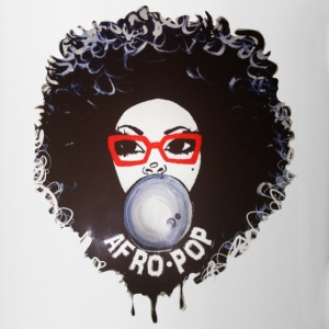Afro pop_Global Couture Mugs & Drinkware - Coffee/Tea Mug