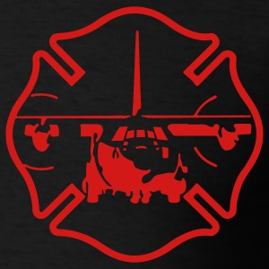 C-130 Maltese Cross  T-Shirts - Men's T-Shirt