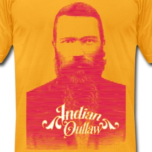 Indian Outlaw - Men's T-Shirt by American Apparel