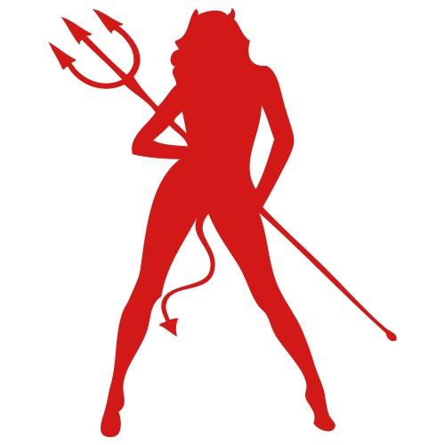 darr sexy silhouette girl devil 15