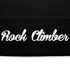 Rock Climber - Knit Cap with Cuff Print