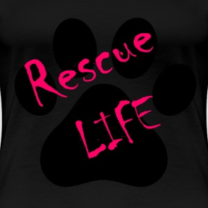Rescue Life Ladies Shirt - Women's Premium T-Shirt