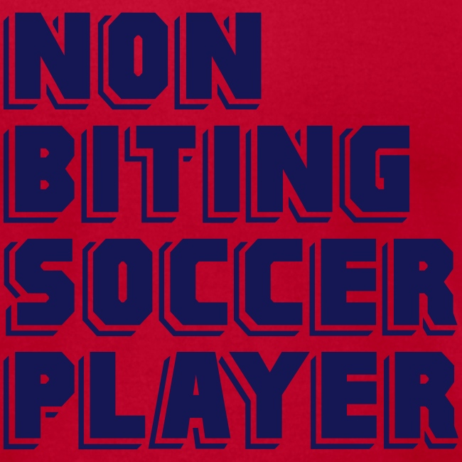 Non-Biting Soccer Player Men's Tee