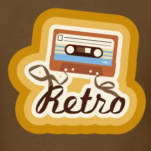 Retro-Cassette - Men's T-Shirt