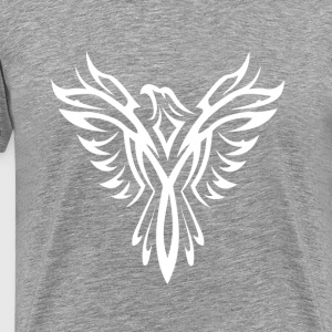 The White PHOENIX! T-Shirts - Men's Premium T-Shirt