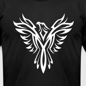 The White PHOENIX! T-Shirts - Men's T-Shirt by American Apparel