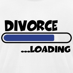 Divorce loading T-Shirts - Men's T-Shirt by American Apparel