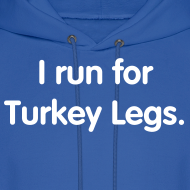 Design ~ Turkey Leg (Men's Hoodie)